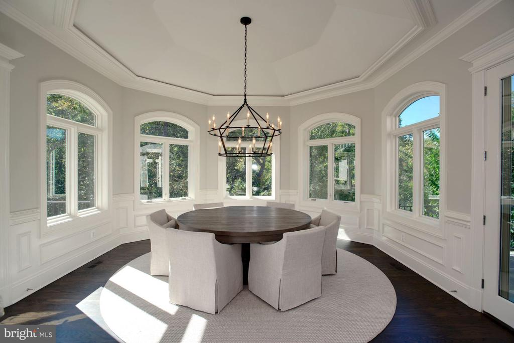 Breakfast Room - 7853 LANGLEY RIDGE RD, MCLEAN
