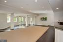 Walk-out Recreation Room - 7853 LANGLEY RIDGE RD, MCLEAN
