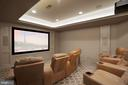 Home Theater - 7853 LANGLEY RIDGE RD, MCLEAN