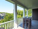 2nd Floor covered balcony porch - 2480 POTOMAC RIVER BLVD, DUMFRIES