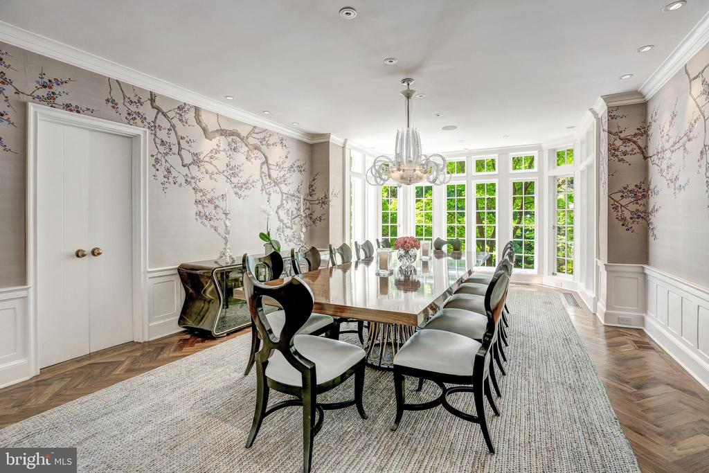 Formal Dining Room Accommodates 24 guests - 4400 GARFIELD ST NW, WASHINGTON
