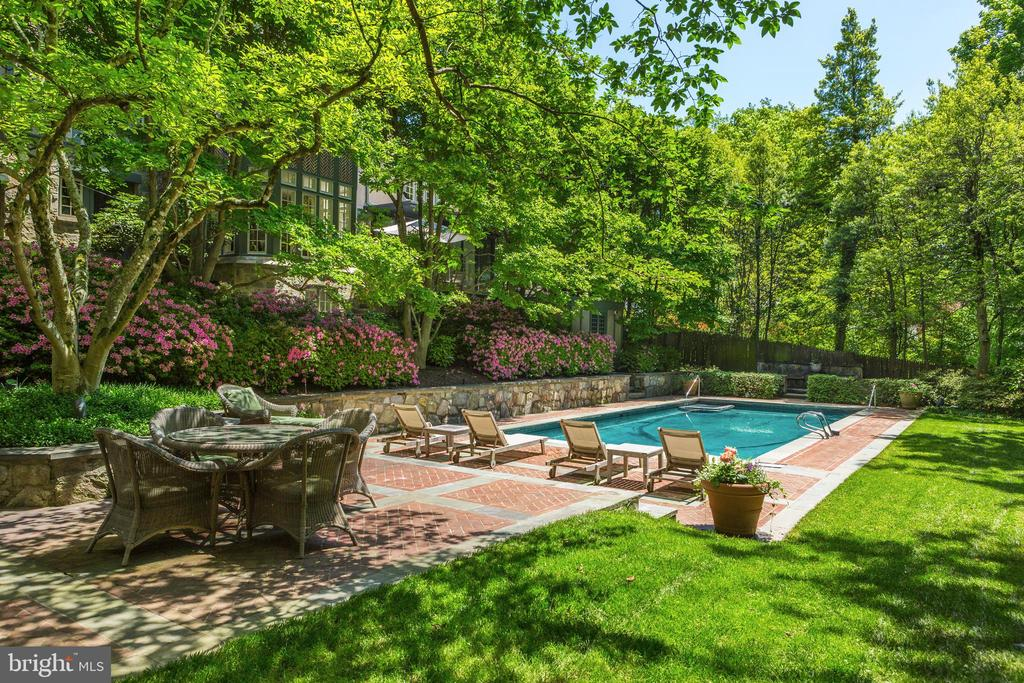 Magnificent Swimming Pool - 4400 GARFIELD ST NW, WASHINGTON