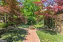 Beautifully Landscaped Formal Gardens - 4400 GARFIELD ST NW, WASHINGTON