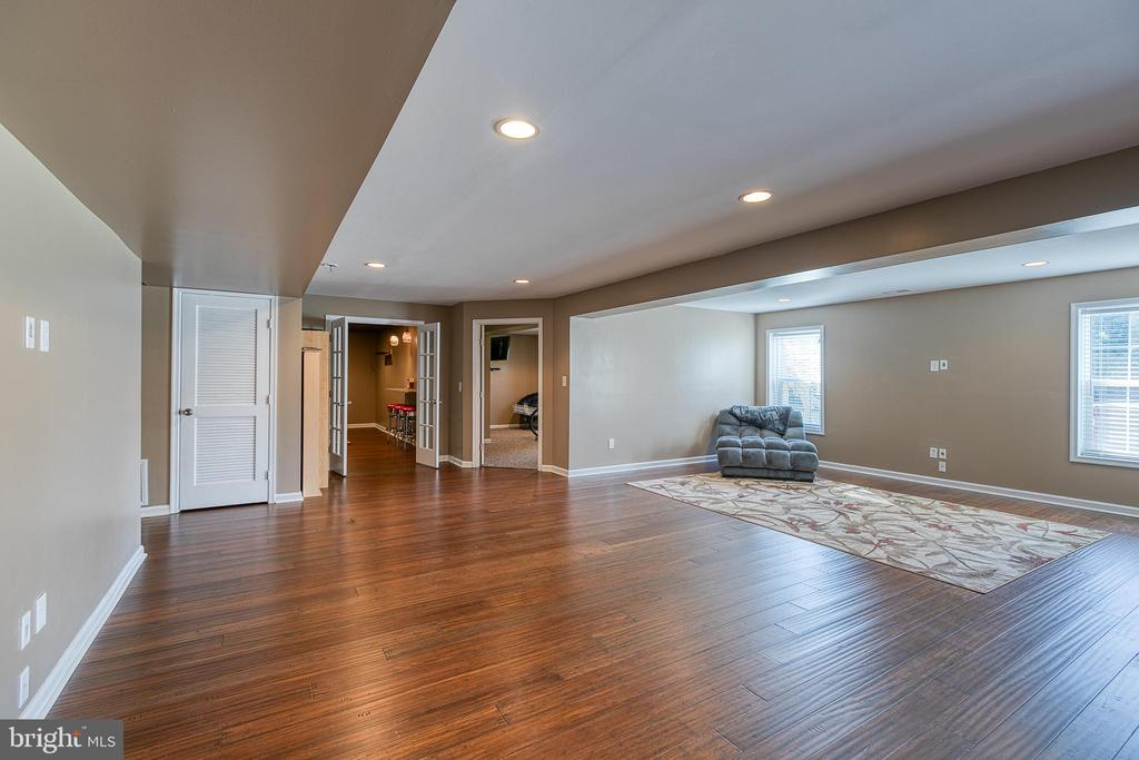 Basement- family/game room - 116 CHRISWOOD LN, STAFFORD