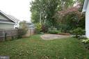 Backyard - 5517 SOUTHWICK ST, BETHESDA