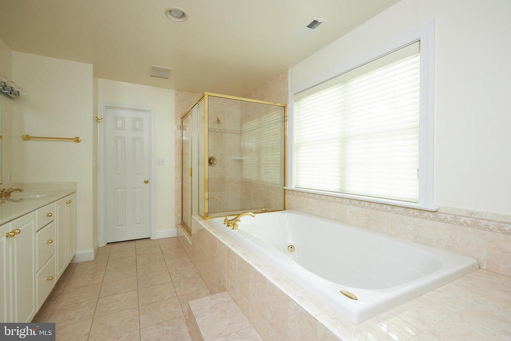 Owner's En Suite Bathroom - 5517 SOUTHWICK ST, BETHESDA