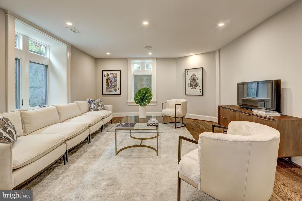 Recreation Room on the Lower Level - 216 8TH ST NE #1, WASHINGTON