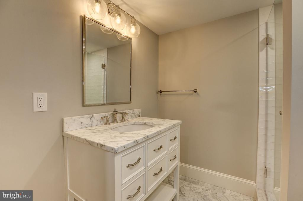 Lower Level Bathroom - 216 8TH ST NE #B, WASHINGTON