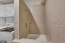 Dog washing station in laundry room - 43121 FLING CT, BROADLANDS