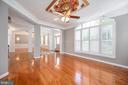 Formal Living Room - 11404 ATTINGHAM CT, MANASSAS
