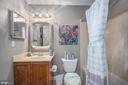 Basement Full Bathroom - 11404 ATTINGHAM CT, MANASSAS