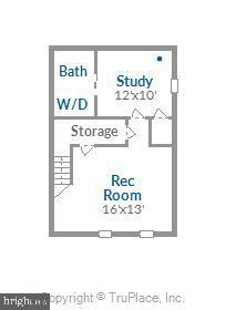 Lower level floorplan - 4609 34TH ST S, ARLINGTON