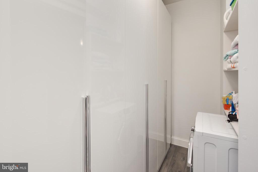 Closet / Laundry - 1 SCOTT CIR NW #118, WASHINGTON