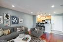 Beautiful modern living area - 3307 WYNDHAM CIR #2165, ALEXANDRIA