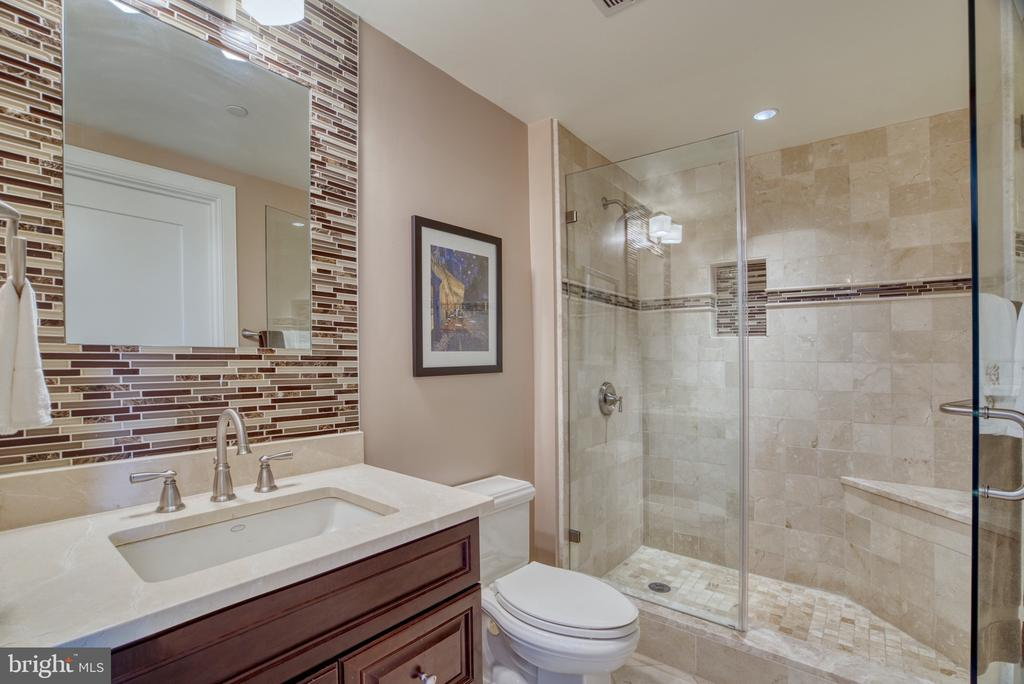 Well lit... Marble & stone. - 1111 19TH ST N #1805, ARLINGTON