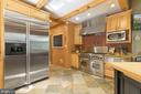 Kitchen with Built in Refrigerator and Prof Stove - 12904 & 12898 SAGLE RD, HILLSBORO