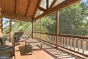 Screened in Porch Off Main Level Primary Bedroom - 12904 & 12898 SAGLE RD, HILLSBORO