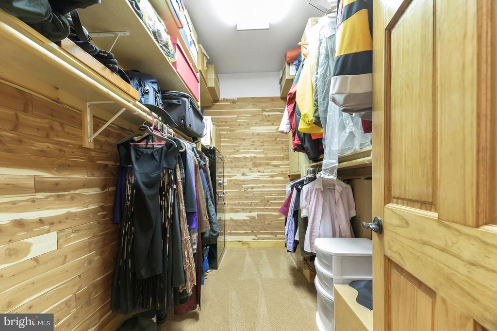 Lower Level Cedar Storage Closet - 12904 & 12898 SAGLE RD, HILLSBORO