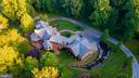 Aerial View of Home - 12904 & 12898 SAGLE RD, HILLSBORO