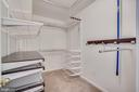 Walk In Closet with built ins - 1823 N UHLE ST #1, ARLINGTON