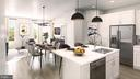 SAMPLE RENDERING -KITCHEN AND DINING AREA w/ upg. - 01 SHIRE MEADOW, DUMFRIES