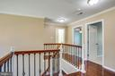 Hardwoods extend upstairs - 81 FOUNTAIN DR, STAFFORD