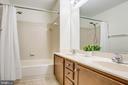 Full bath on upper level - 81 FOUNTAIN DR, STAFFORD