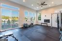 Gym or huge rec room! - 2005 S LINCOLN ST, ARLINGTON