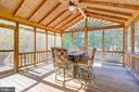 Screened Porch - 3749 HETTEN LN, WOODBRIDGE
