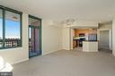 Door to Balcony - 851 N GLEBE RD #1117, ARLINGTON