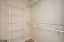 Second Bedroom Walk-in Closet - 851 N GLEBE RD #1117, ARLINGTON