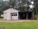 1-car detached garage/workshop with storage - 161 LAWSON RD SE, LEESBURG
