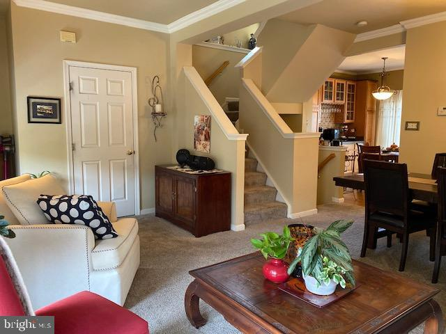 Main Level has spacious living room - 43180 KATAMA SQ, CHANTILLY