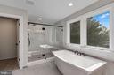 Master Bathroom with oversized luxury shower - 3414 BURROWS AVE, FAIRFAX