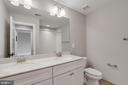 Hall Bathroom - 3414 BURROWS AVE, FAIRFAX