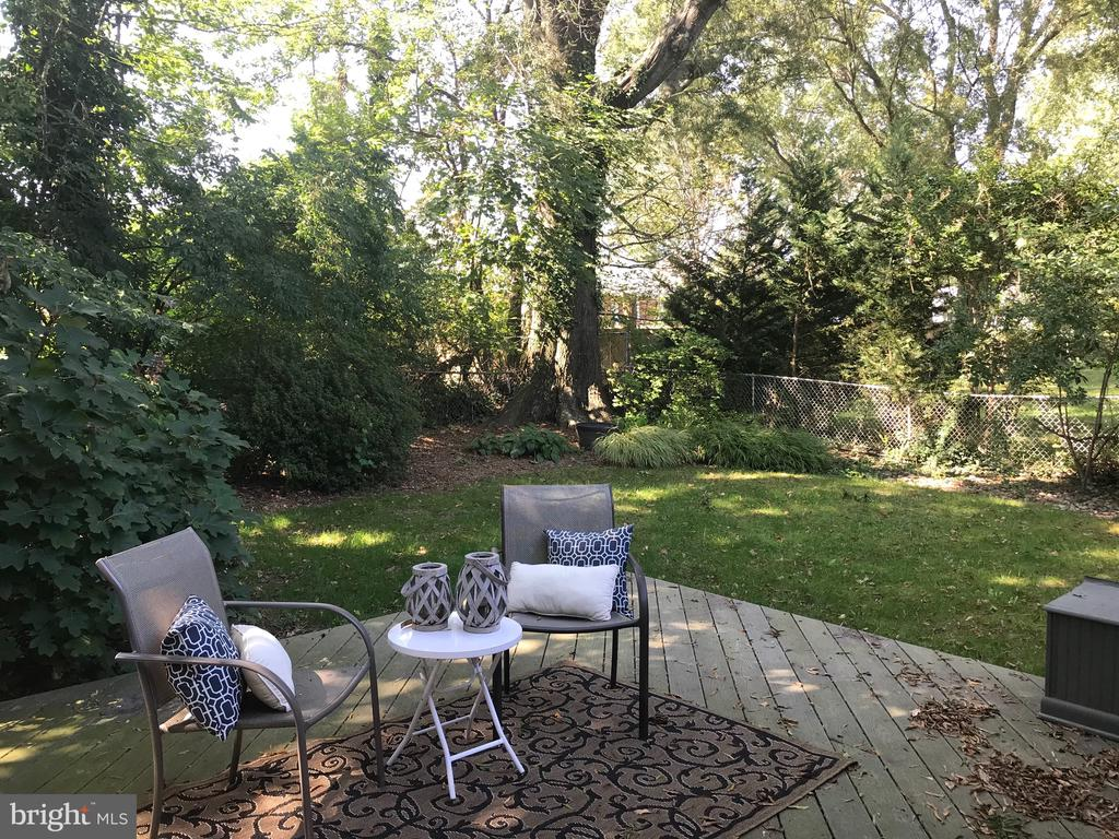This yard is so inviting! - 710 N BUCHANAN ST, ARLINGTON