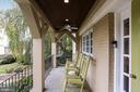 Wonderful porch to sip your favorite beverages - 3540 N VALLEY ST, ARLINGTON