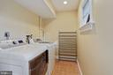 Laundry room on upper level - 3540 N VALLEY ST, ARLINGTON