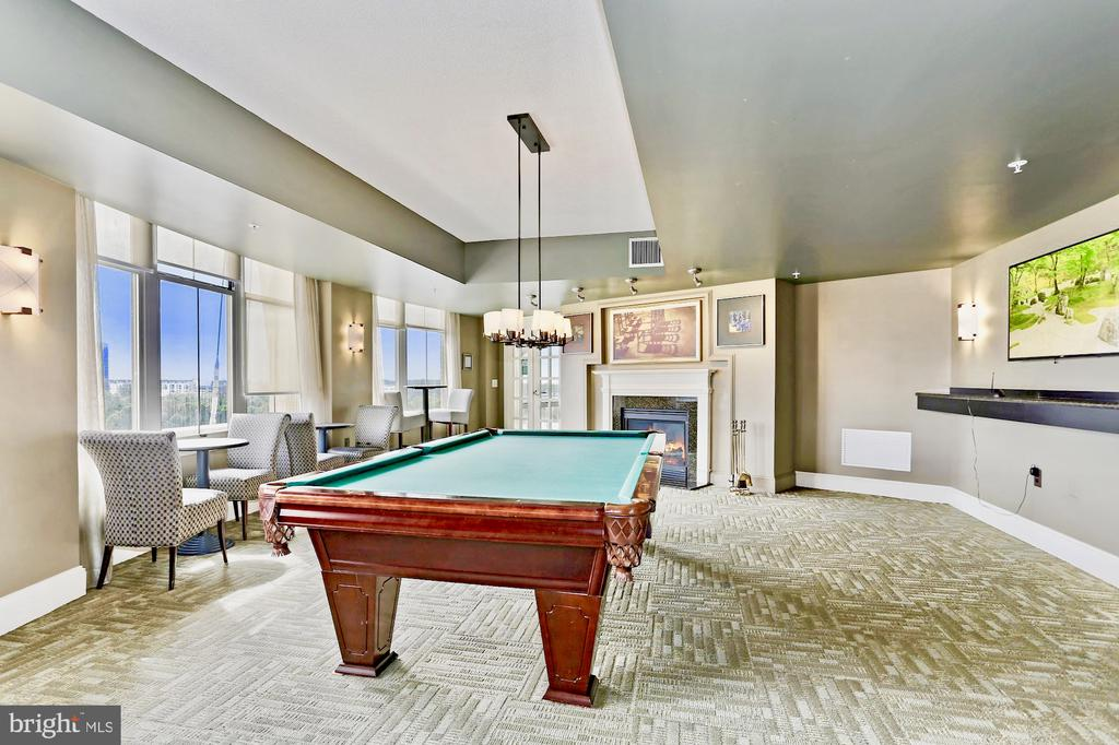 Billiards on the rooftop anyone? - 11800 SUNSET HILLS RD #311, RESTON