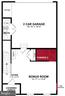 First Level Floor Plan - 17663 FALCON HEIGHTS ST, DUMFRIES