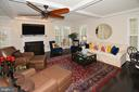 Huge great room - 7614 CHESTNUT ST, MANASSAS