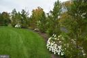 Professionally landscaped yard - 7614 CHESTNUT ST, MANASSAS