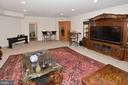 Huge lower level recreation room - 7614 CHESTNUT ST, MANASSAS
