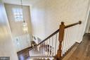 Overlook from upper hall - 43207 SUMMITHILL CT, ASHBURN