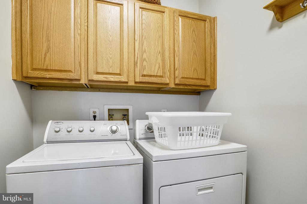 Main level laundry off kitchen. - 43207 SUMMITHILL CT, ASHBURN
