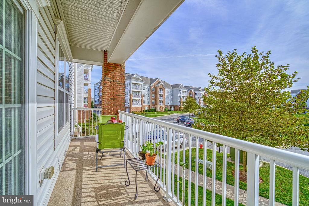 TWO Outdoor Balconies - 20590 HOPE SPRING TER #207, ASHBURN