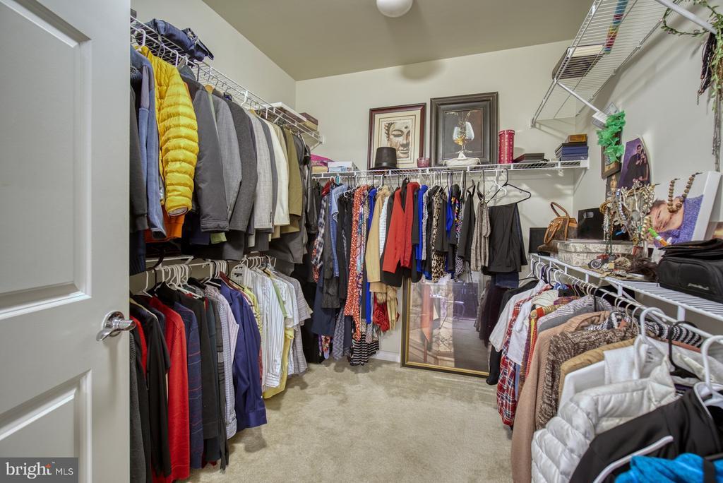 Very Large Walk-in Closet - 20590 HOPE SPRING TER #207, ASHBURN