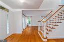 Looking into Formal Living Room - 11644 SANDAL WOOD LN, MANASSAS