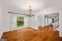 Formal Dining Room - 11644 SANDAL WOOD LN, MANASSAS