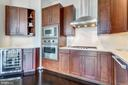 Open kitchen w/ state-of-the-art Viking appliances - 8220 CRESTWOOD HEIGHTS DR #1916, MCLEAN